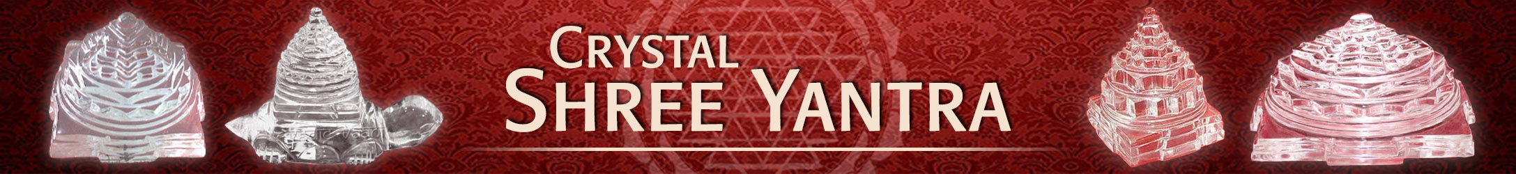 Crystal Shree Yantra