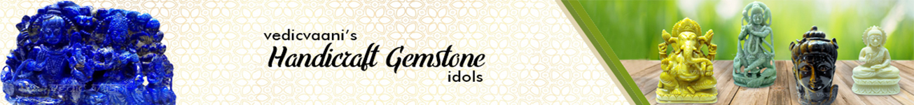 Handicraft Gemstone Idols