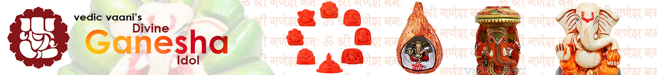 Divine Ganesha idols