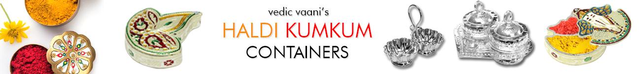Haldi Kumkum Containers