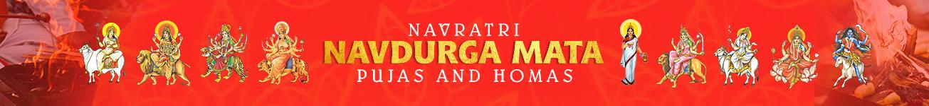 Navratri Navdurga Mata Puja and Homams