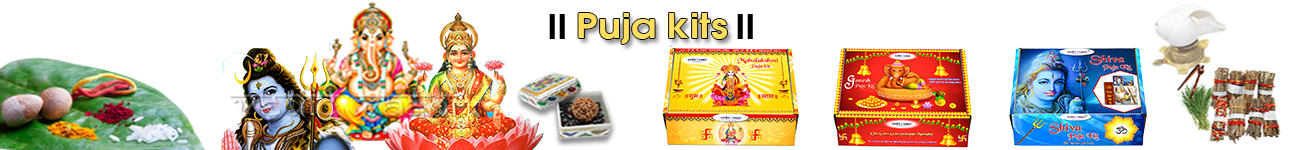 Puja kits and Sets for Rituals